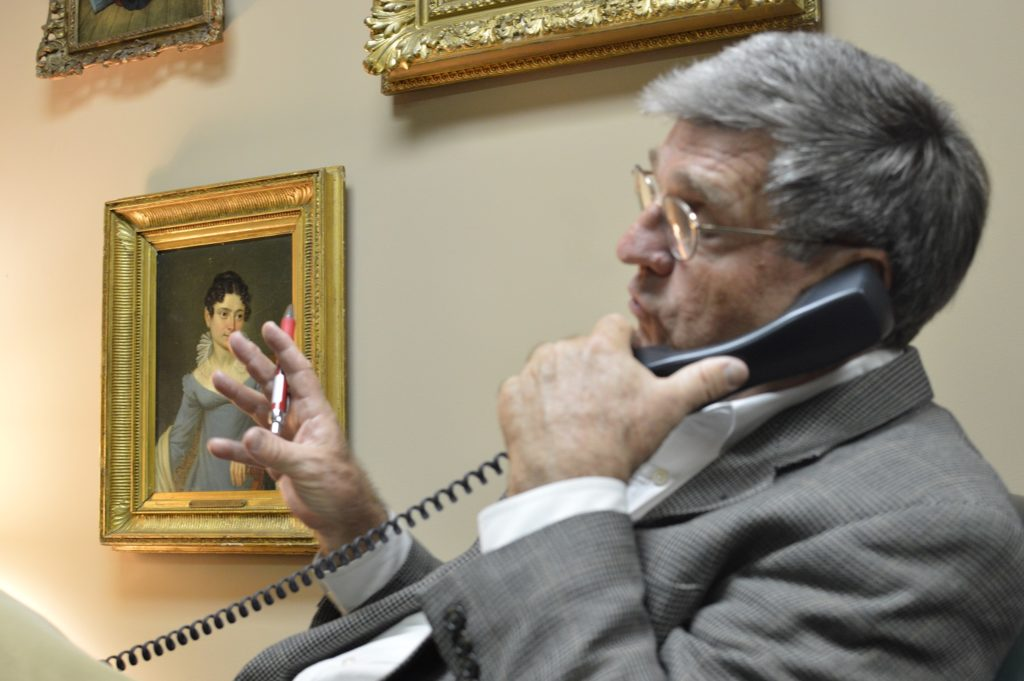 Mr. Wessels is particularly proud of the firm's unlimited Telephone Consultation Program. This Program has been a part of our client services since 1985.